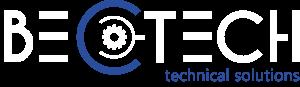 BEC TECH Logo in weiß